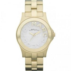 Marc Jacobs MBM3134 Women's Gold Tone Stainless Steel Watch