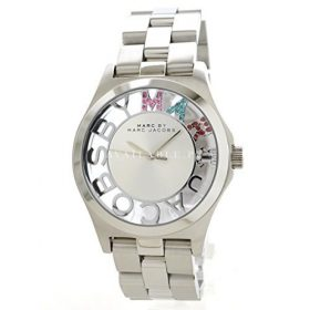 Marc Jacobs MBM3262 Ladies Silver Henry Skeleton Watch