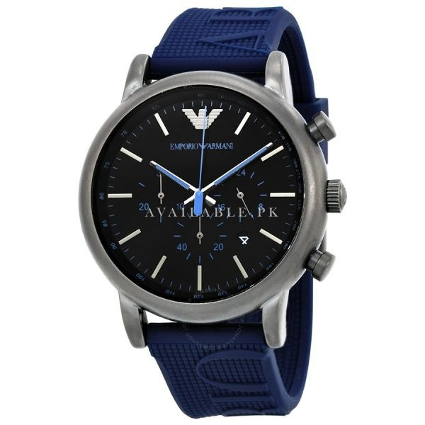 Emporio Armani AR11023 Luigi Chronograph Black Mens Watch Price In Pakistan