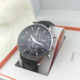 IWC Chronometer Black & Silver Automatic His Watch Price In Pakistan
