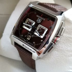 Tag Heuer Monaco CAL 12 Brown Chronometer Mens Watch Price In Pakistan