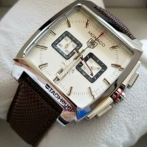 Tag Heuer Monaco CAL 12 White Chronometer Mens Watch Price In Pakistan