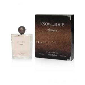 Rasasi Knowledge Pour Femme Eau De Parfum For Women 100ml