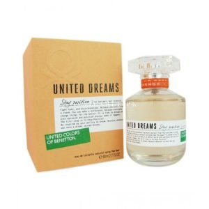 Benetton United Dreams Stay Positive Eau De Toilette For Women 50ml