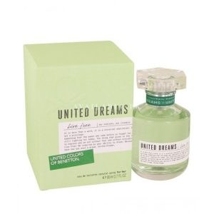 Benetton United Dreams Live Free EDT Perfume For Women 80ML