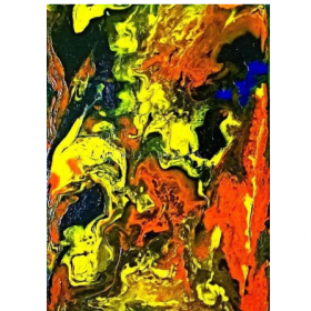 HSK Art - Genre: ABSTRACT Art Abstract Wall Painting