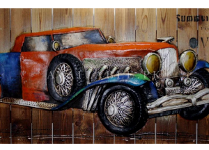 HSK Art - ROLLS ROYCE | Genre: CONTEMPORARY ART Wall Painting