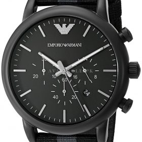 Emporio Armani AR1948 Luigi Chronograph Black Mens Watch Price In Pakistan