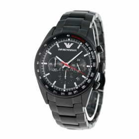 Emporio Armani AR6094 Black PVD Tachymeter Men's Watch Price In Pakistan