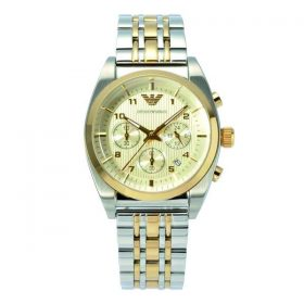 Emporio Armani AR0396 Two Tone Chronograph Men Watch Price In Pakistan