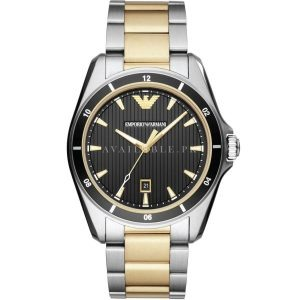 Armani Ar80017 43mm Two Tone Men Watch Price In Pakistan
