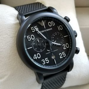 Emporio Armani All Black AR11133 Analog Chronograph Mens Watch Price In Pakistan