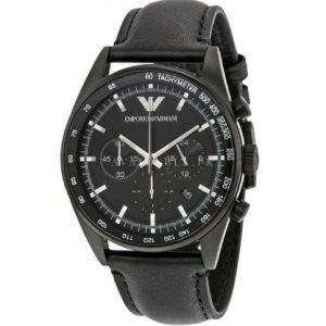 Armani AR6093 Black Chronograph Mens Watch Price In Pakistan