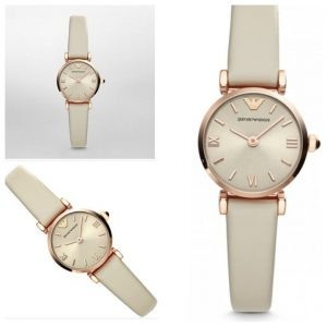Emporio Armani White Belt Quartz Ladies Watch Price In Pakistan