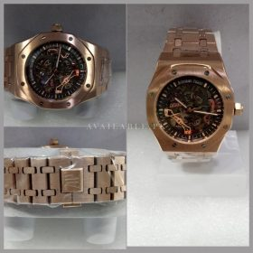 Audemars Piguet RoseGold Automatic Skeleton Mens Watch Price in Pakistan