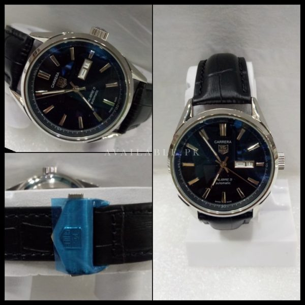 Tag Heuer Calibre 5 Black Dial Automatic Men Watch Price In Pakistan