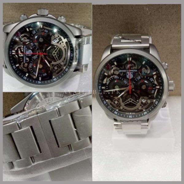 Tag Heuer Calibre 35 Skeleton Stainless Men Watch Price In Pakistan