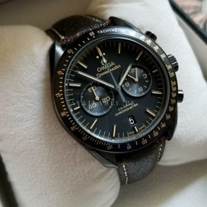 Omega SpeedMaster Tachymeter With Brown Cracked Style Belt Price In Pakistan