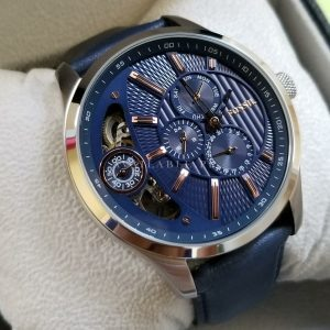 Buy Original Fossil ME1099 Twist Blue Dial Multi function Men Watch