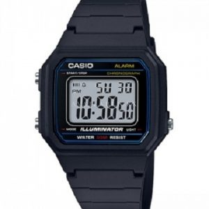 Casio Standard W-217h-1a- For Men