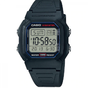 Casio General Men's Watches W-800H-1AV