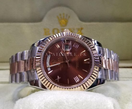 Rolex Day Date Automatic Swiss Machine 41mm Mens Watch Price In Pakistan