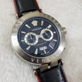 Versace Men's Watches Chronograph Aion Silver Sporty Price in Pakistan