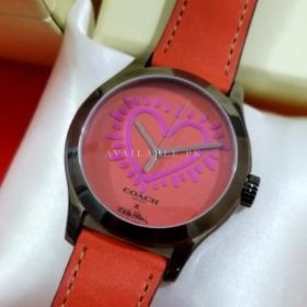 Coach Maddy Red Heart Women's Watch Price In Pakistan