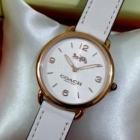 Coach Maddy White Classic Women's Watch Price In Pakistan
