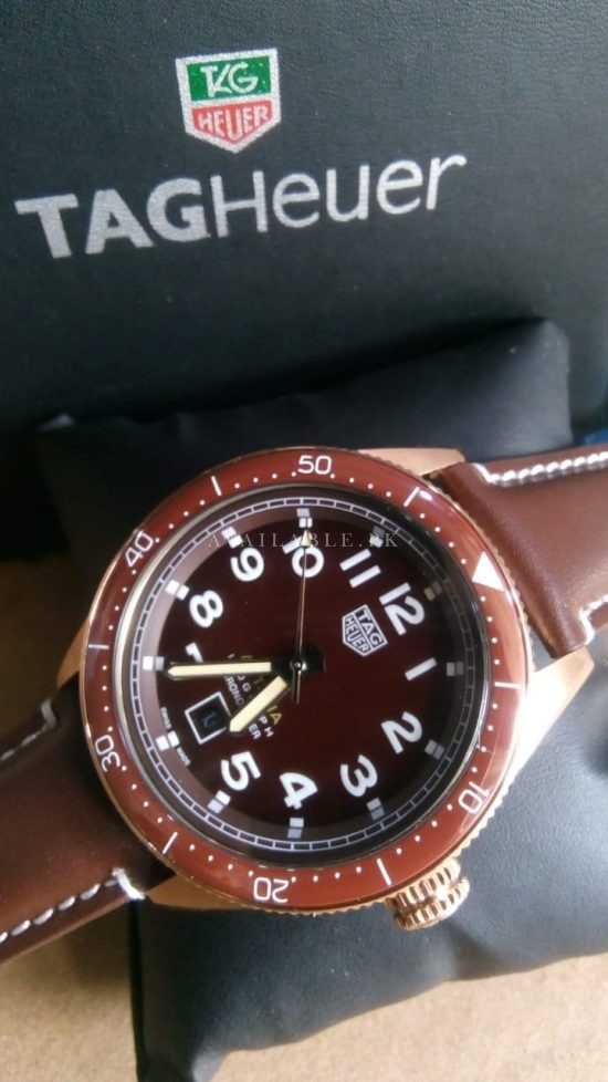 Tag Heuer Autavia Automatic Brown Mens Watch Price In Pakistan