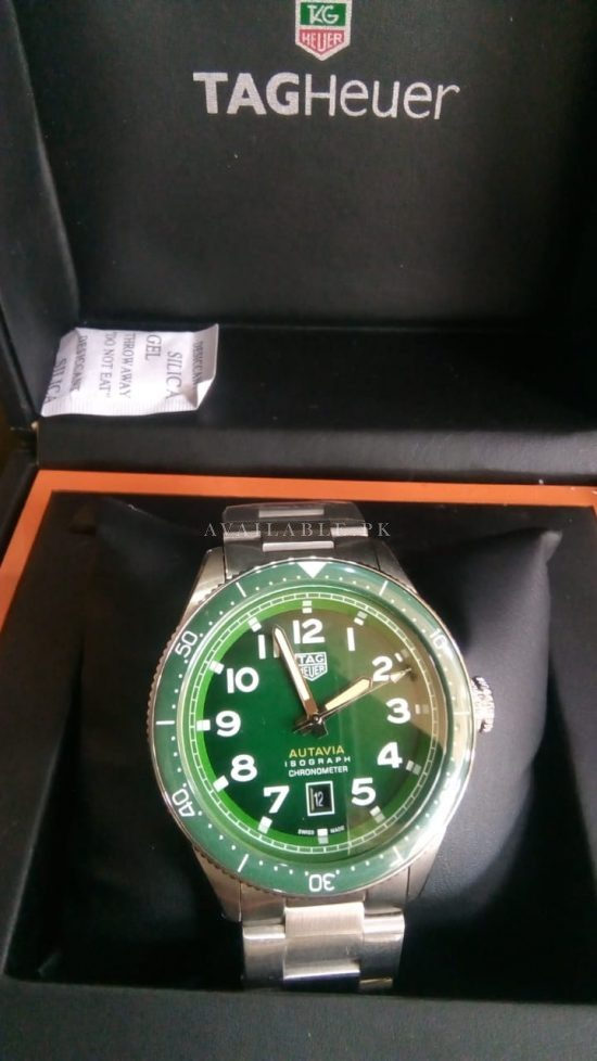 Tag Heuer Autavia Automatic Green Dial Mens Watch Price In Pakistan