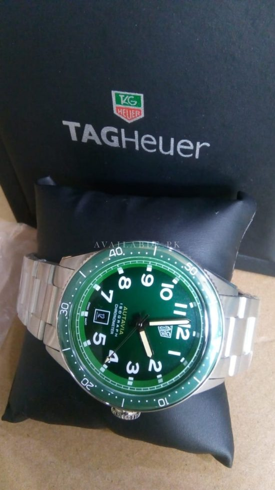 Tag Heuer Autavia Automatic 42mm Green Dial Stainless Mens Watch Price In Pakistan