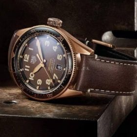 Tag Heuer Autavia Rose Gold Brown Mens Watch Price In Pakistan