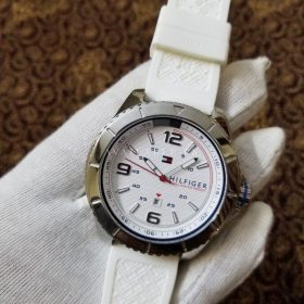 Tommy Hillfiger Satm White Belt Stainless Her Watch Price In Pakistan