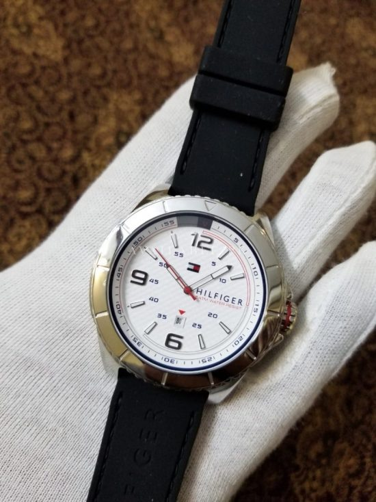 Tommy Hilfiger 5 atm Black Belt Stainless Her Watch Price In Pakistan