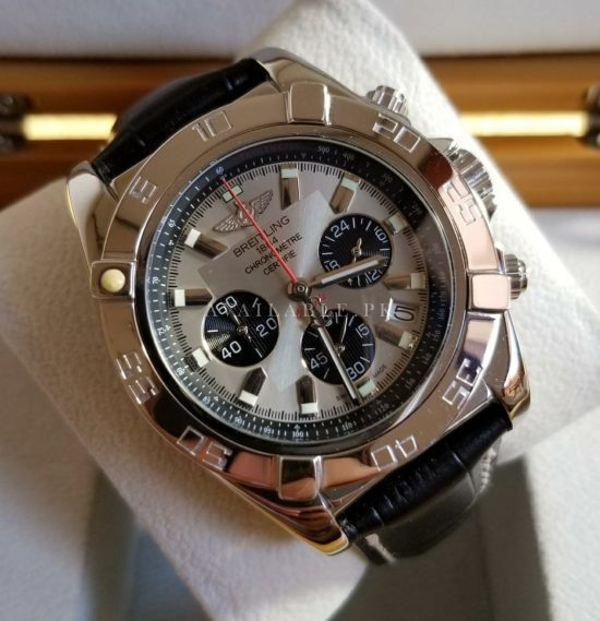 Breitling 1884 Chronometer Silver Mens Watch Price In Pakistan