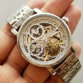 Patek Philippe Automatic Skeleton Gold Mens Watch 5180-1G Price in Pakistan