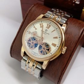 Patek Philippe Dual Tone Double Tourbillon Mens Watch Price in Pakistan