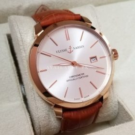 Ulysse Nardin 8152-111-2 91 Classico Eggshell Rose Gold Watch Price In Pakistan