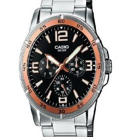Casio - Enticer Watch - Men's - MTP-1299D-1AVDF Price In Pakistan