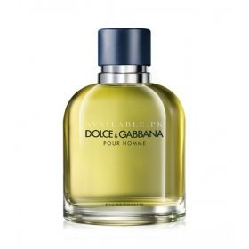 Dolce & Gabbana Pour Homme Eau De Toilette For Men 125ml