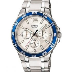 Casio - Enticer Watch - Men's - MTP-1300D-7A2VDF Price In Pakistan