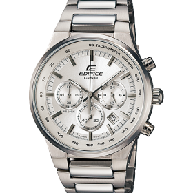 Casio Edifice EF-500BP-7AVUDF Chronograph Tachymeter Stainless Steel