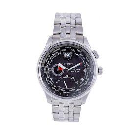 Citizen BR0017-57E - Stainless Steel Analog Watch For Men - Black Price In Pakistan