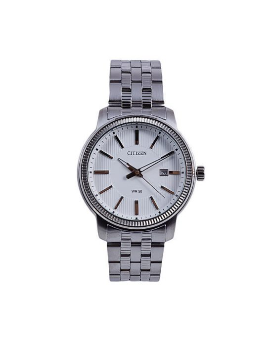 Citizen BI1087-56A - Stainless Steel Analog Watch For Men - White Price In Pakistan