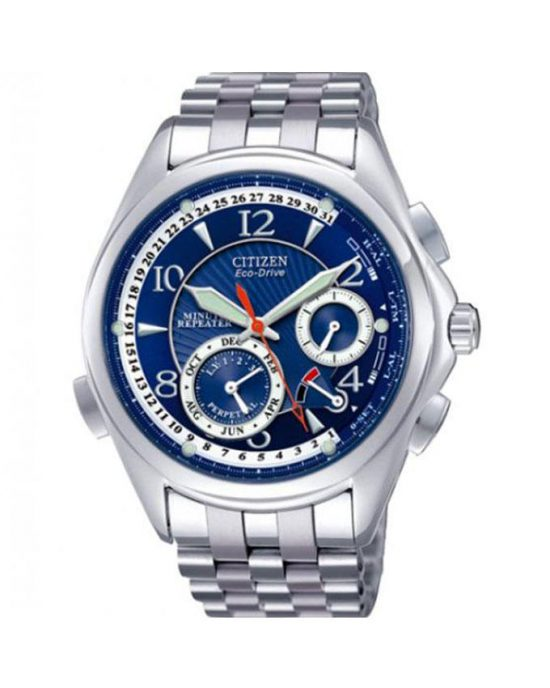 Citizen Stainless Steel Men's Chronograph Watch BL9000-83L - Silver Price In Pakistan