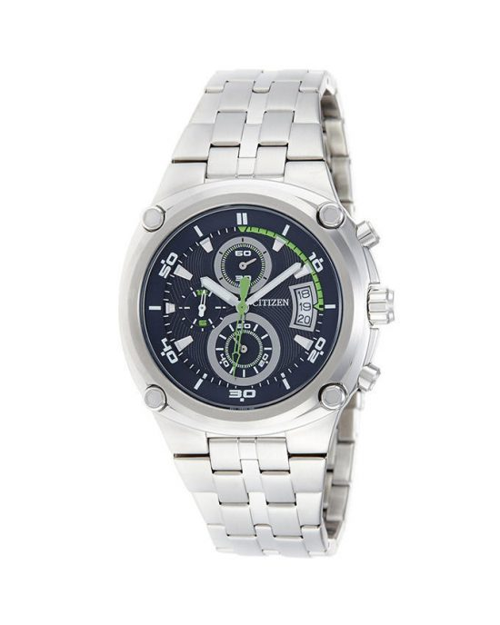 Citizen Men Silver Stainless Steel Chronograph Watch Model No. AN3450-50L Price In Pakistan