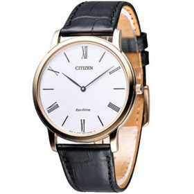 Citizen Men Black Leather Watch Model No AR1113-12B Price In Pakistan