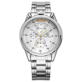Megir Men's MS3005G-7 White Dial Chronograph Price In Pakistan