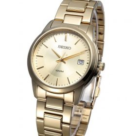 Seiko Gold Stainless Steel Watch For Men -SGEF58P1 Price In Pakistan